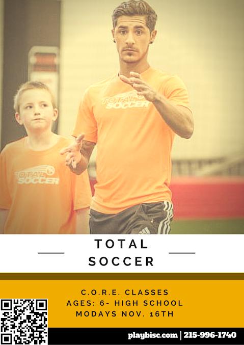 BucksMont Indoor Sports Center Total Soccer CORE instructional Program