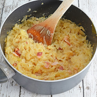 Beer and Bacon Sauerkraut