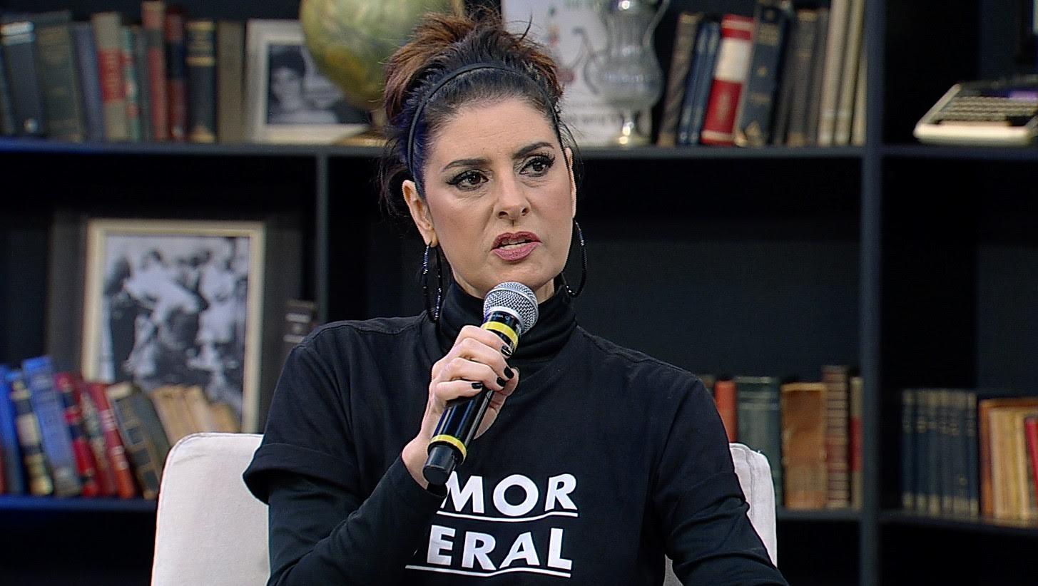 Fernanda Abreu no programa Mariana Godoy Entrevista
