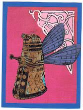 Photo: Wenchkin's Mail Art 366 - Day 201 - Card 201a