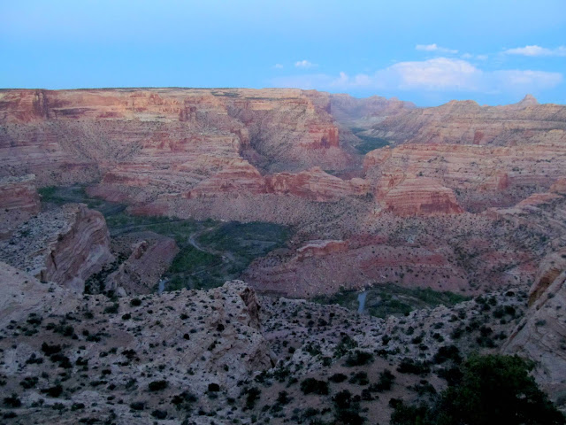 Little Grand Canyon after sunset