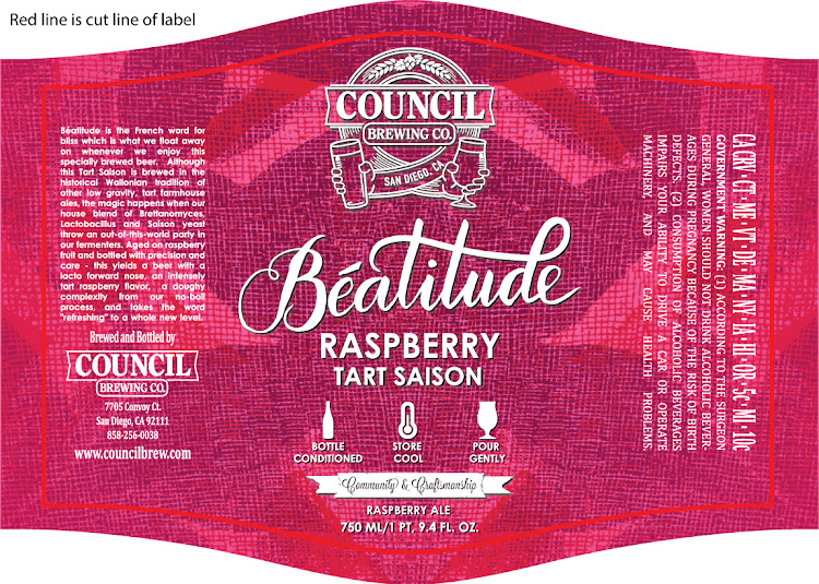 Logo of Council Beatitude Raspberry Tart Saison