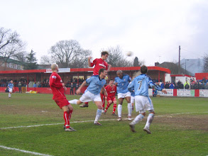 Photo: 05/02/05 v Woking (FAT4) 0-3 - contributed by Leon Gladwell