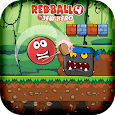Red Bounce Ball - Bossy Hero 4 icon