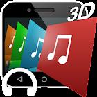 iSense Music - 3D Music Player icon