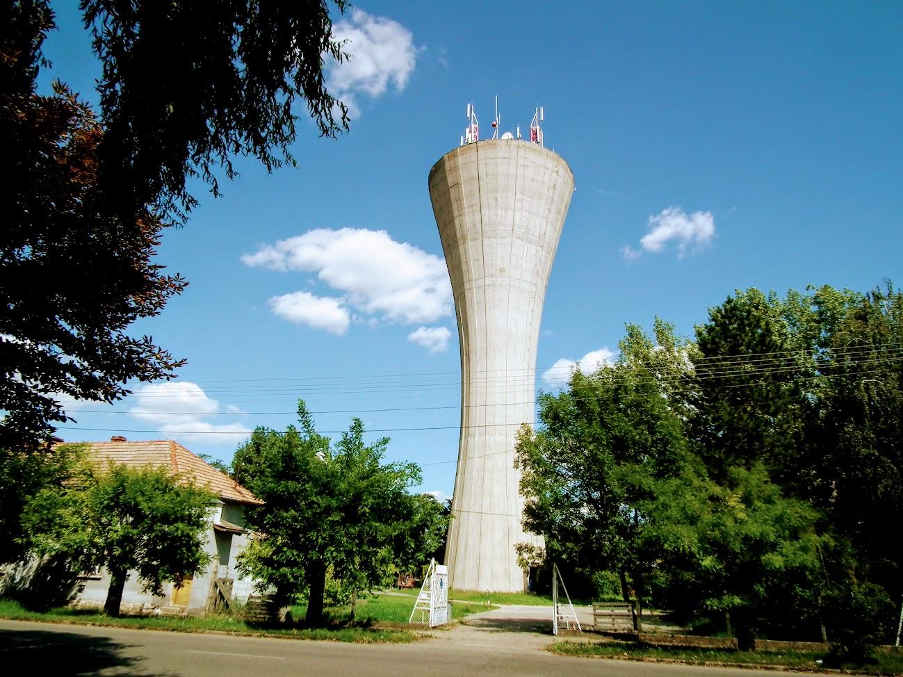 Törökszentmiklós/víztorony - helyi URH-FM adóállomás