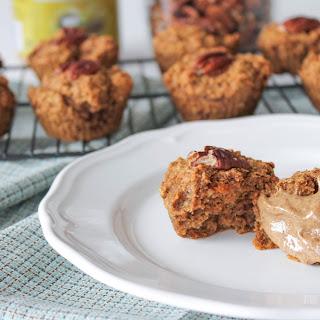 Apple, Carrot & Almond Butter Muffins