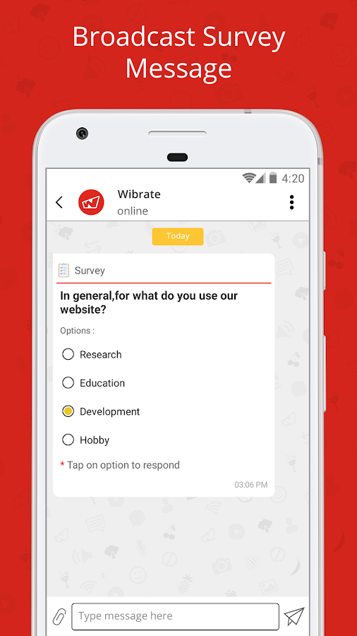 Wibrate - Free Wi-Fi & Messaging Service- screenshot