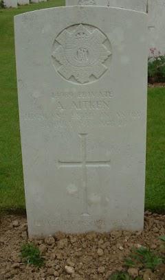 Andrew Aitken grave