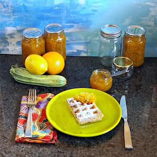 Zucchini Carrot Ginger Marmalade.