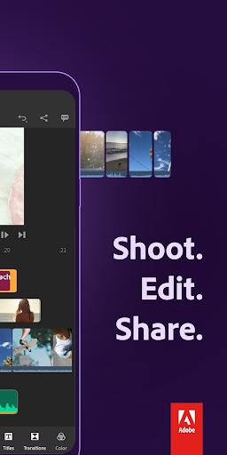 Adobe Premiere Rush u2014 Video Editor 1.5.0.3241 screenshots 2