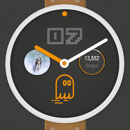 Ghost - Watch Face w/ Complications- screenshot