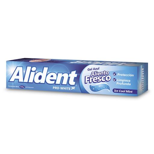 crema dental importada alident gel azul anticaries 100 gr