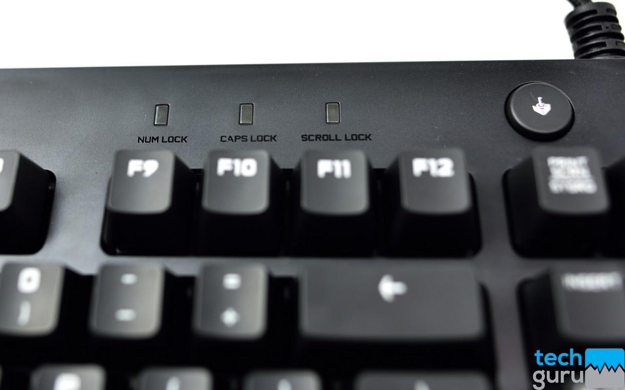 Đánh giá chiếc phím cơ Logitech G610 Orion Brown