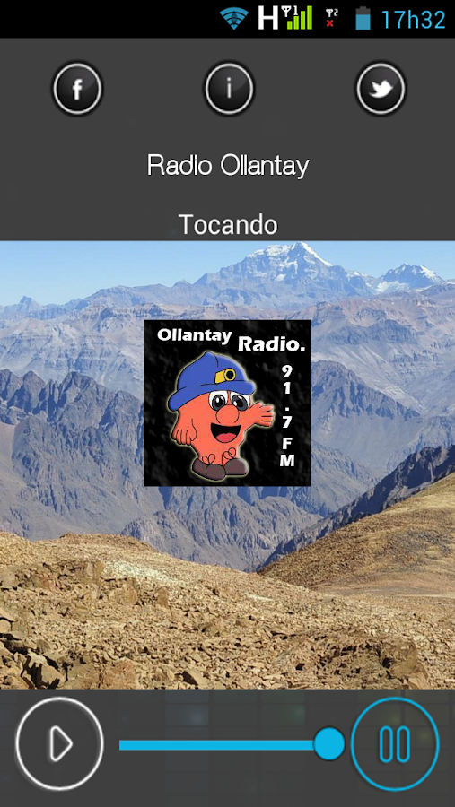 Radio Ollantay FM - Chile- screenshot