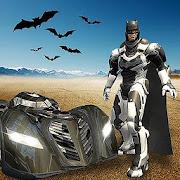 Superhero Bat Robot Flying Bat Hero Rescue Mission
