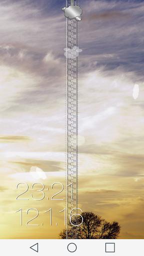 Sky Zipper Lock Screen
