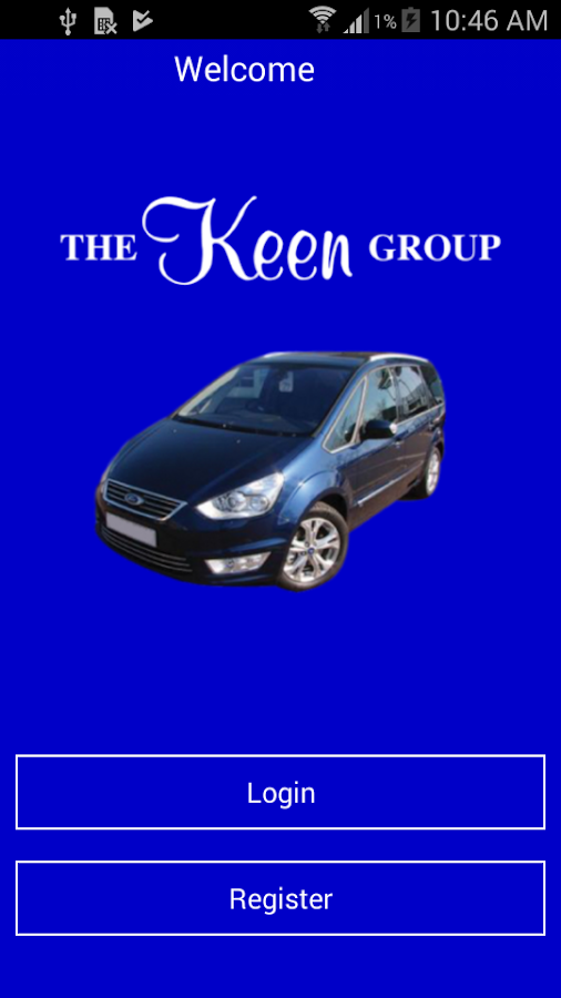 Keen Group Minicabs & Couriers- screenshot
