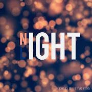 Gece Işığı - Xperia Canlı Tema