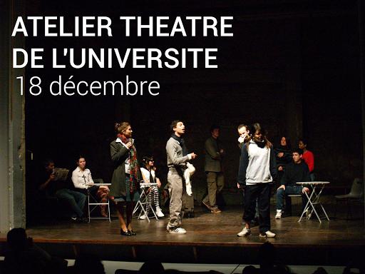 Atelier théâtre Université