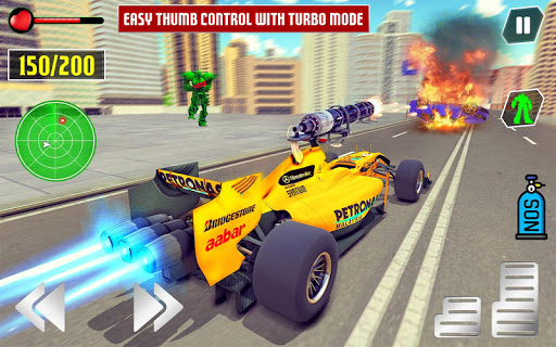 Dragon Robot Car Game u2013 Robot transforming games screenshots 9
