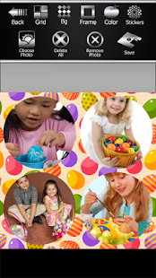 Easter Egg Photo Collage - náhled