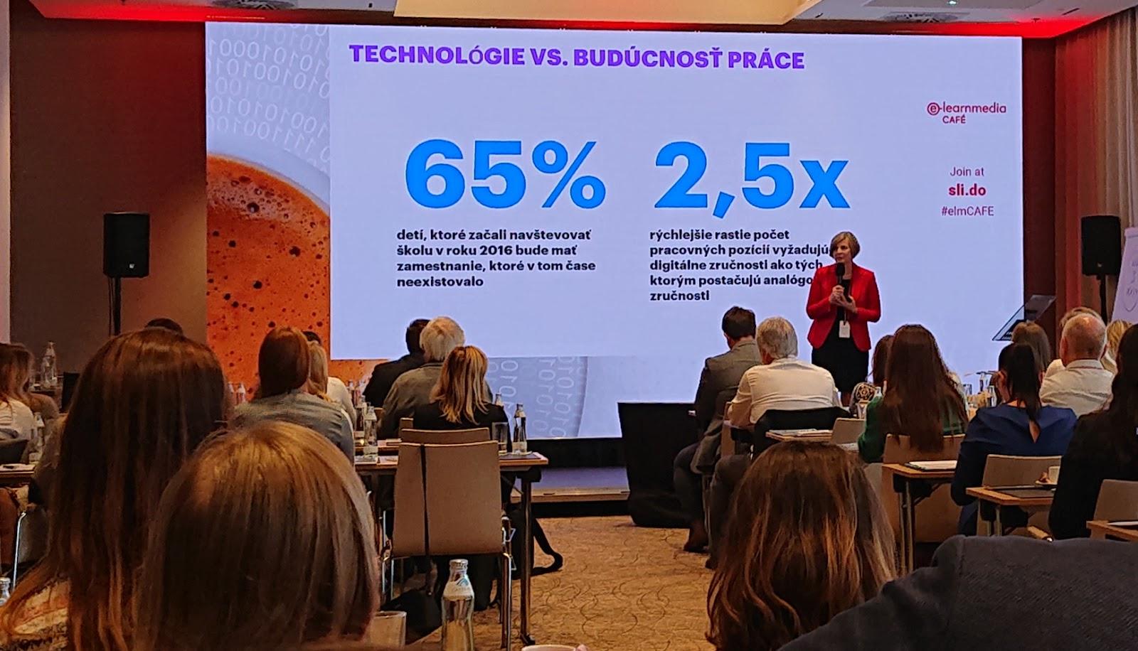 Alena Kanabová vraví o budúcnosti práce a dôležitosti digitálnych zručností.