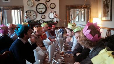Photo: Кафедра отмечает рождество.