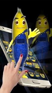 cute cartoon banana - náhled