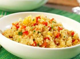 Quinoa Pepper Pilaf Recipe