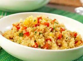 Quinoa Pepper Pilaf