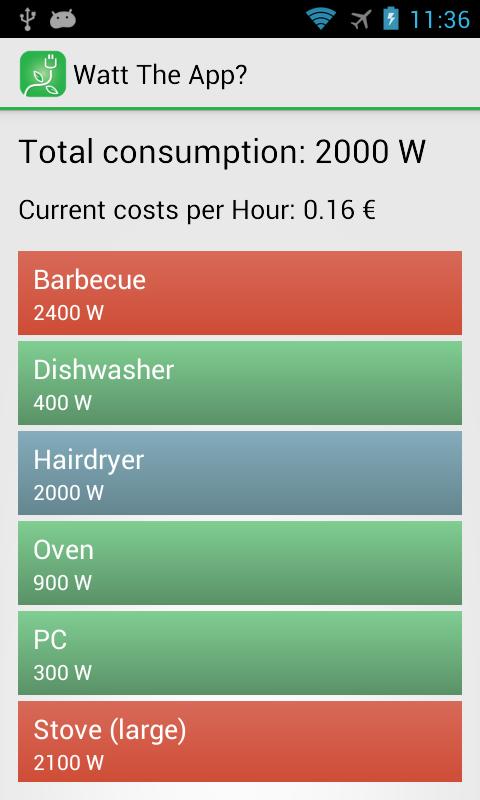 Скриншот Watt The App?