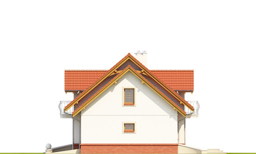Dom Dla Ciebie 1 w2 z garażem 1-st. A - Elewacja prawa