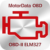 MotorData OBD Car Diagnostics. ELM327 OBD2 scanner