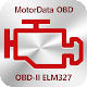 MotorData OBD Car Diagnostics. ELM327 OBD2 scanner (app)