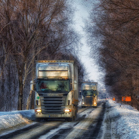 On the road by Zoran              Radunovic - Transportation Other