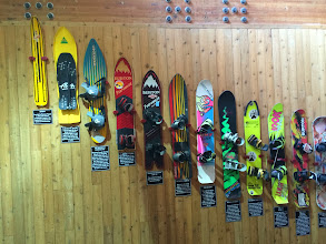 Photo: History of snowboards