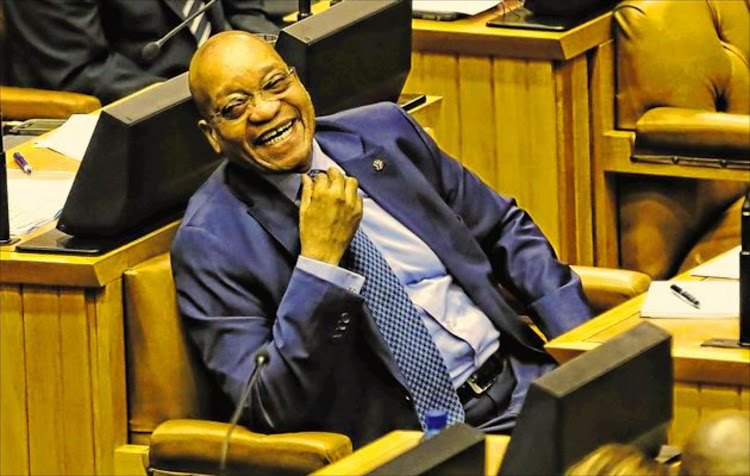 President Jacob Zuma's laugh is what inspired two whistleblowers to release the Gupta Leaks.