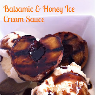Grilled Peaches With Balsamic & Honey Sauce