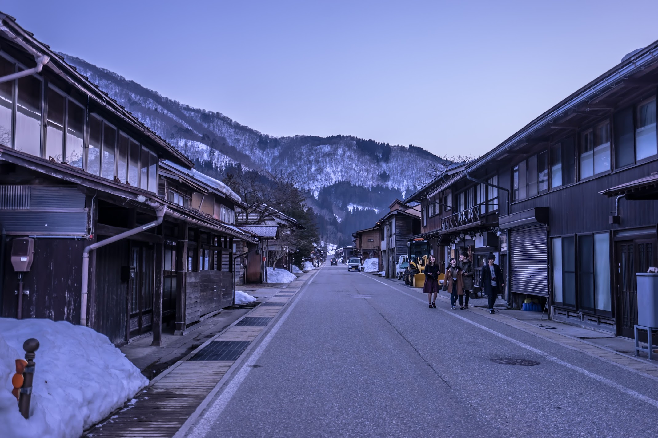 Shirakawa-go evening view5