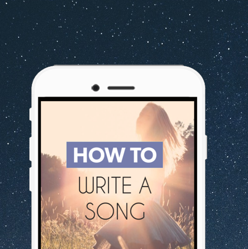 How To Write a Song‏‎ steps