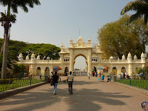 Photo: #232-Mysore, l'Amba Vilas Palace