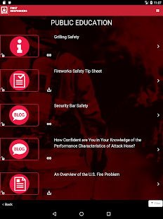 NFPA 1st Responder Connection- screenshot thumbnail