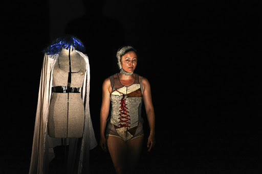 Maternal ancestors:Scenes from the award-winning play Womb of Fire — which is inspired by women's personal stories — plays a role in redressing historical gender imbalances prevalent in South African theatre. Picture: SUPPLIED