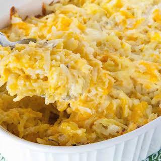 Cheesy Potato Casserole.
