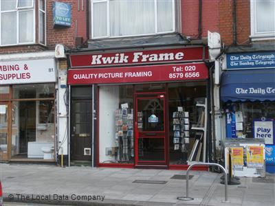 Kwik Frame on Greenford Avenue - Picture & Photo Framers in Hanwell ...