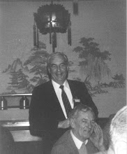 Photo: George Carscallen behind Jim Black