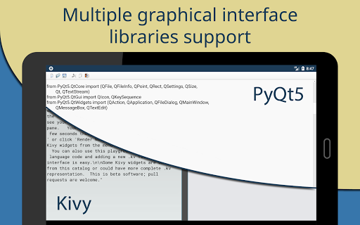 Pydroid 3 - Educational IDE for Python 3  screenshots 11