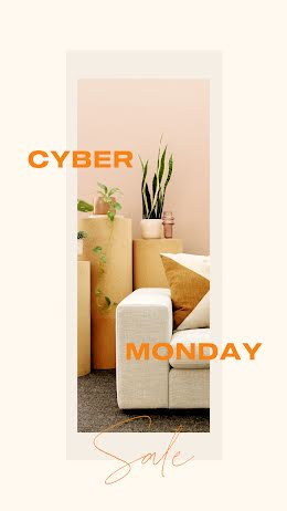 Cyber Monday Furnishings - Facebook Story item