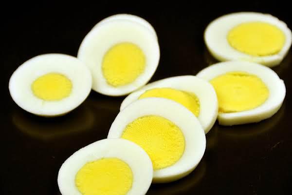 Egg Crowns Unusual Appetizer